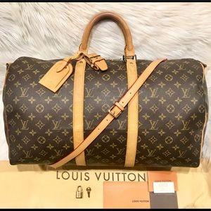 Louis Vuitton Keepall 50 Travel Bag #8.9P